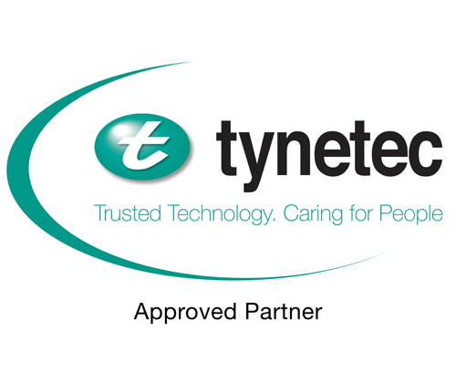 Tynetec Approved Partner Logo White